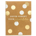 Never Forget Your sparkle Pocket Notes